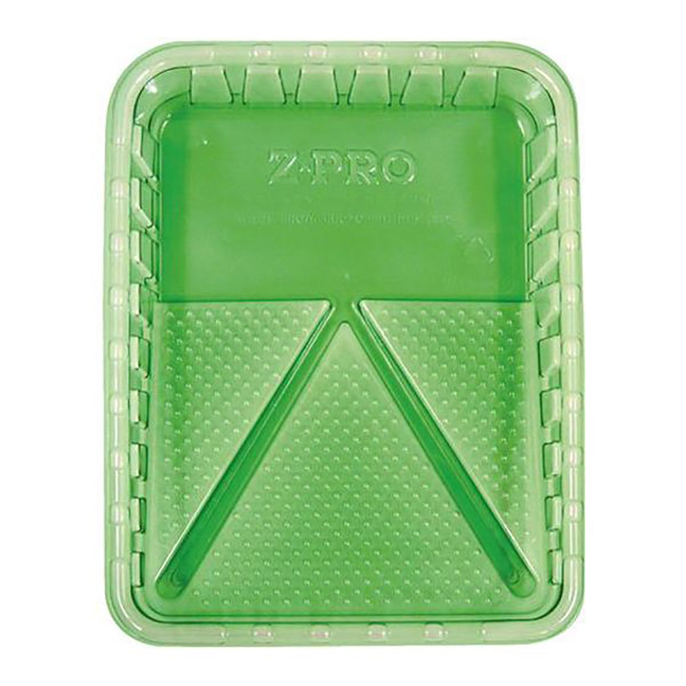 "9"" ZPro green plastic paint tray, available at Mallory Paint Stores in Washington State and Idaho."
