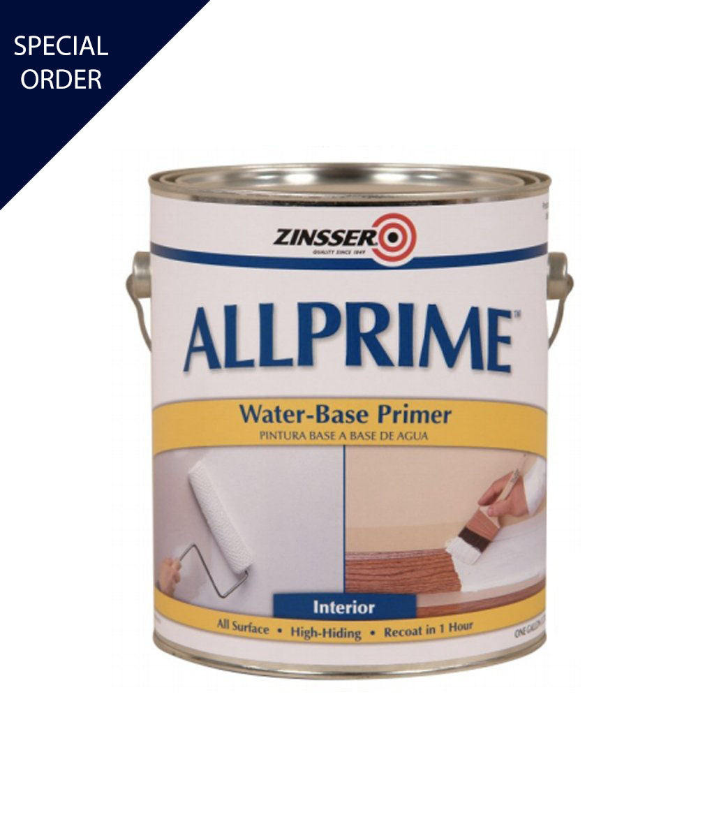 Allprime water base primer, available at Mallory Paint Store in WA & ID.