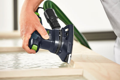 Festool DTS 400 REQ Orbital Finish Sander in use available at Colorize, INC.