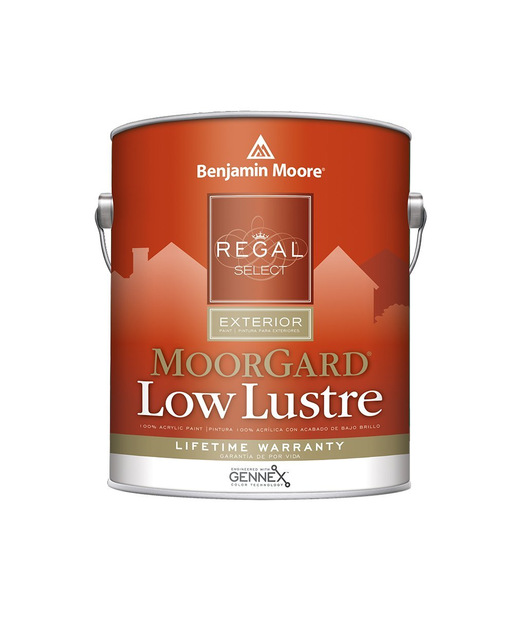 Benjamin Moore Regal Select Low Lustre Exterior Paint available at Mallory Paint Stores