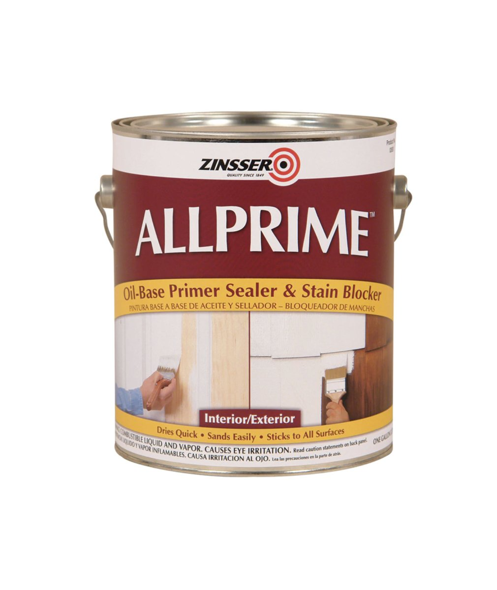 Allprime Interior & Exterior oil-based Primer, available at Mallory Paint in WA & ID.