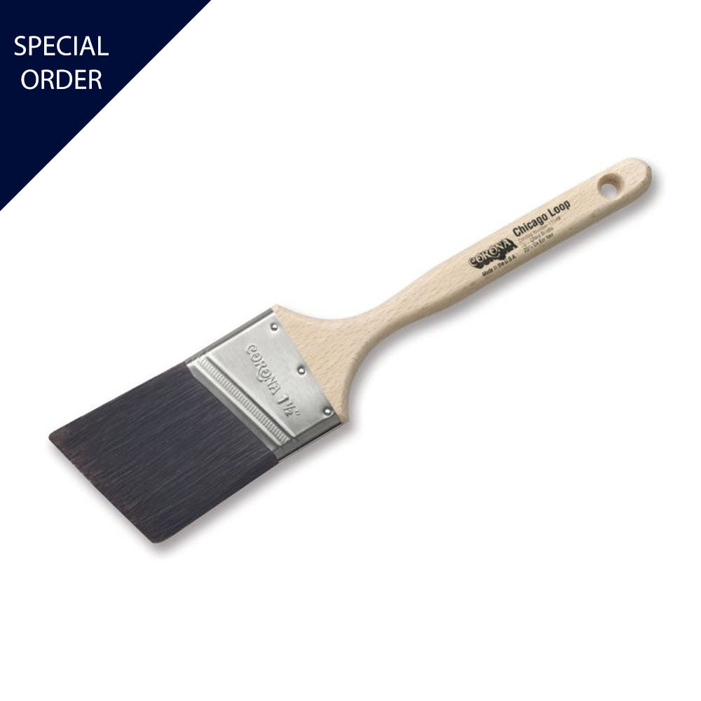 Corona Chicago Loop Brush, available at Mallory Paint Store in WA & ID.