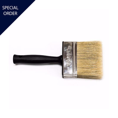 "Corona Easy O 4"" Oil Stain Brush, available at Mallory Paint in WA & ID."