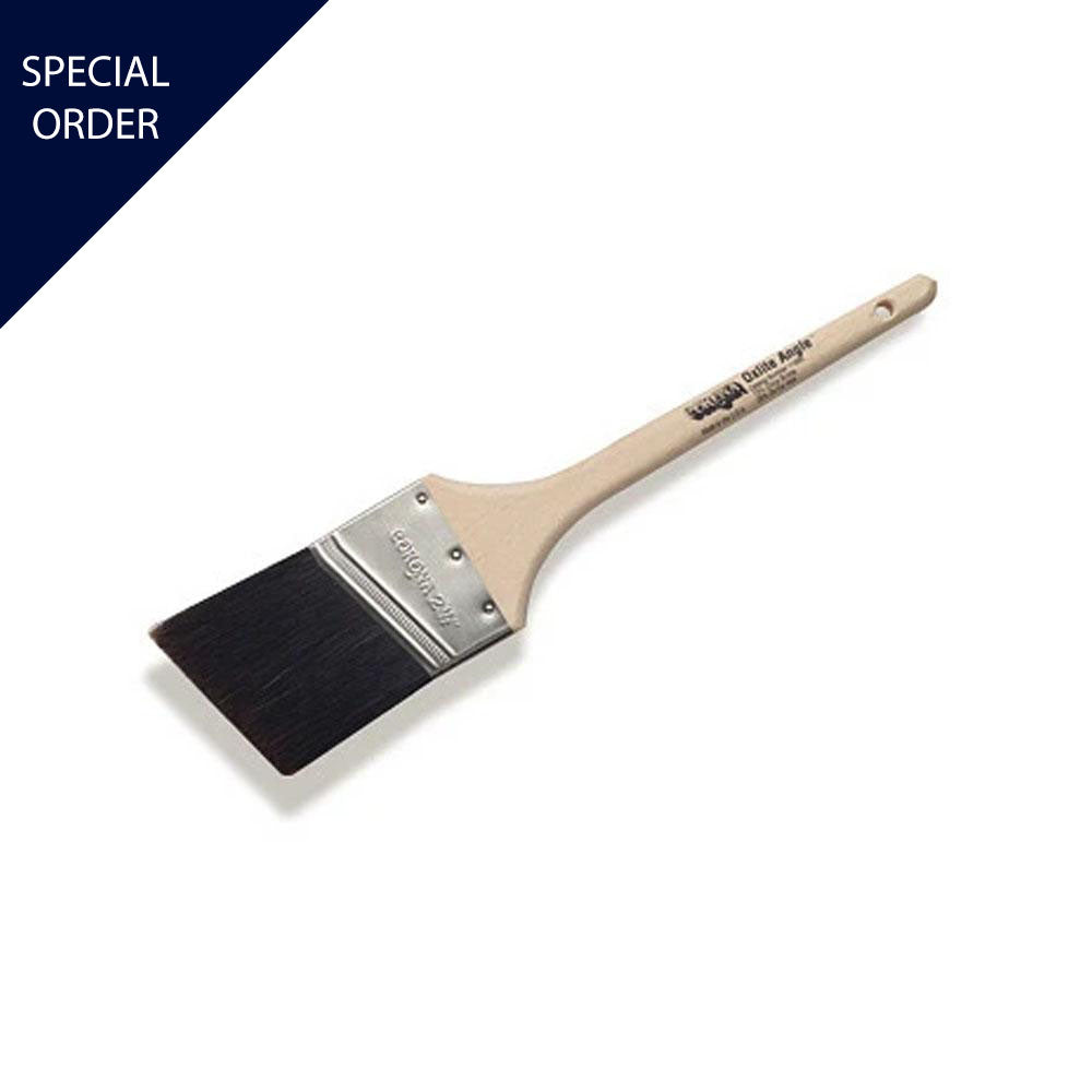 Corona Oxlite Angle OX Hair Paint Brush available at Mallory Paint Store, Washington and Idaho, USA.