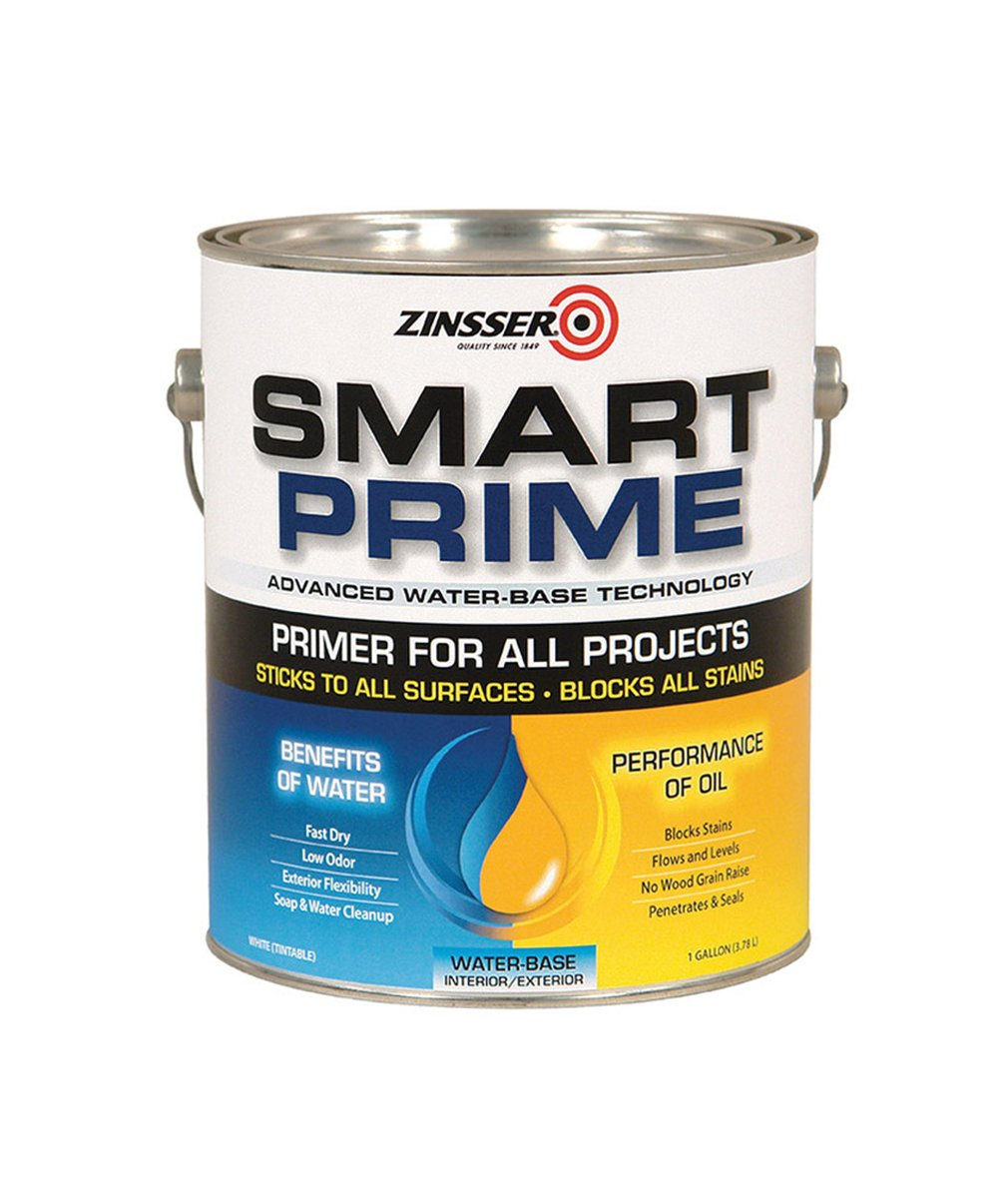 Zinsser Smart Prime Primer, available at Mallory Paint Store in WA & ID.