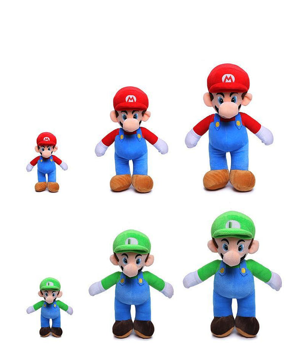 Super Mario and Luigi Plush Doll Toys