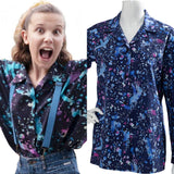 Stranger Things Season 3 Eleven Cosplay Costume T-Shirt Halloween Dress Ouifit