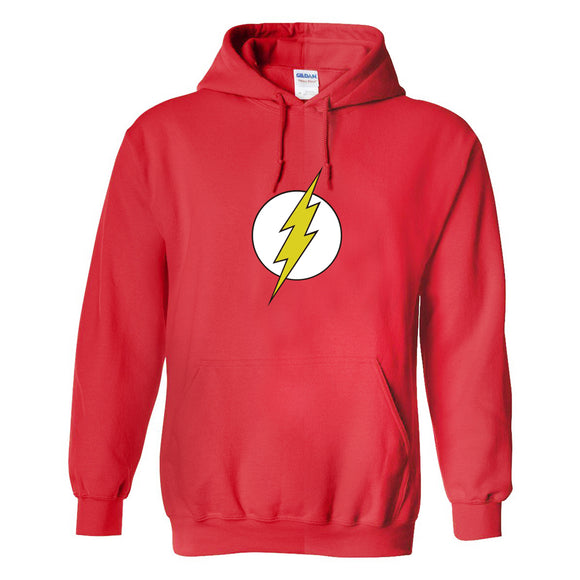 Unisex The Flash Hoodies Lightning Logo Printed Pullover 3D Print Jacket Sweatshirt