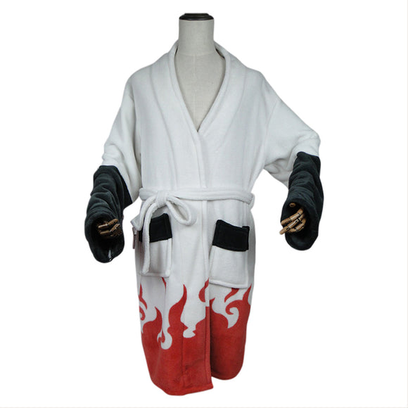 Adult Bathrobe Naruto Cosplay 4th Hokage Costume Bath Robe Sleepwear Pajamas