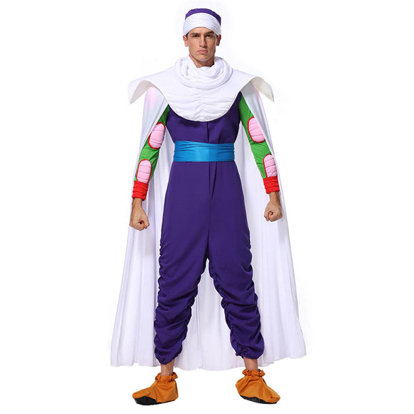 Men Halloween Dragon Ball Piccolo Cosplay Costume Fancy Stage Performance Outfit