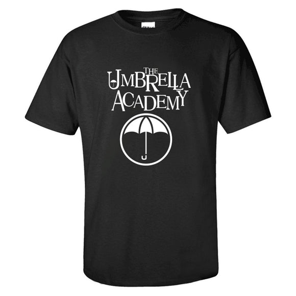 The Umbrella Academy Logo Men's Short Sleeve Shirts T Shirts Tees