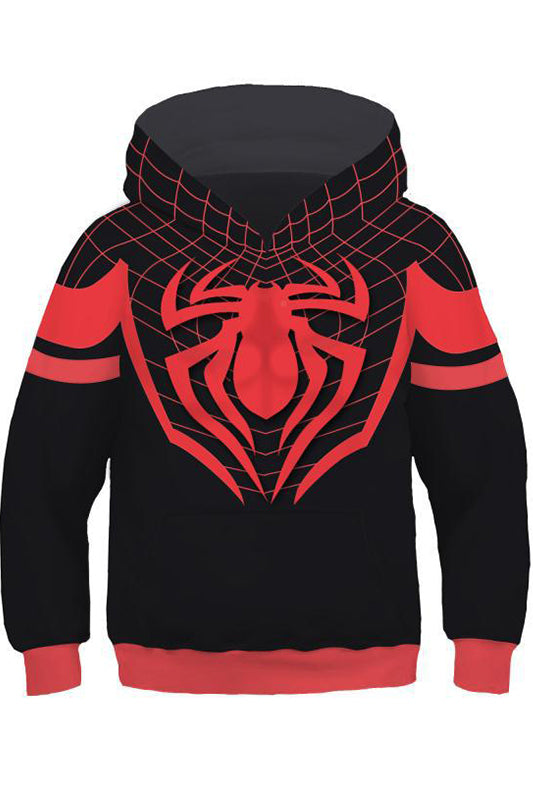75fc02db Little Boys Hoodie Spider-Man: Into the Spider-Verse Miles Morales 3D  Pullover