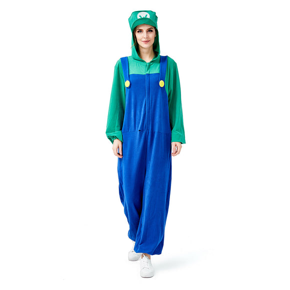 Women's Nintendo Super Mario Bros.Luigi Female Deluxe Costume