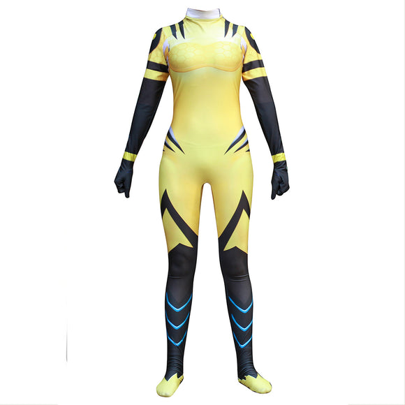 Overwatch D.va Cosplay Costume B.Va Skin Body Suit