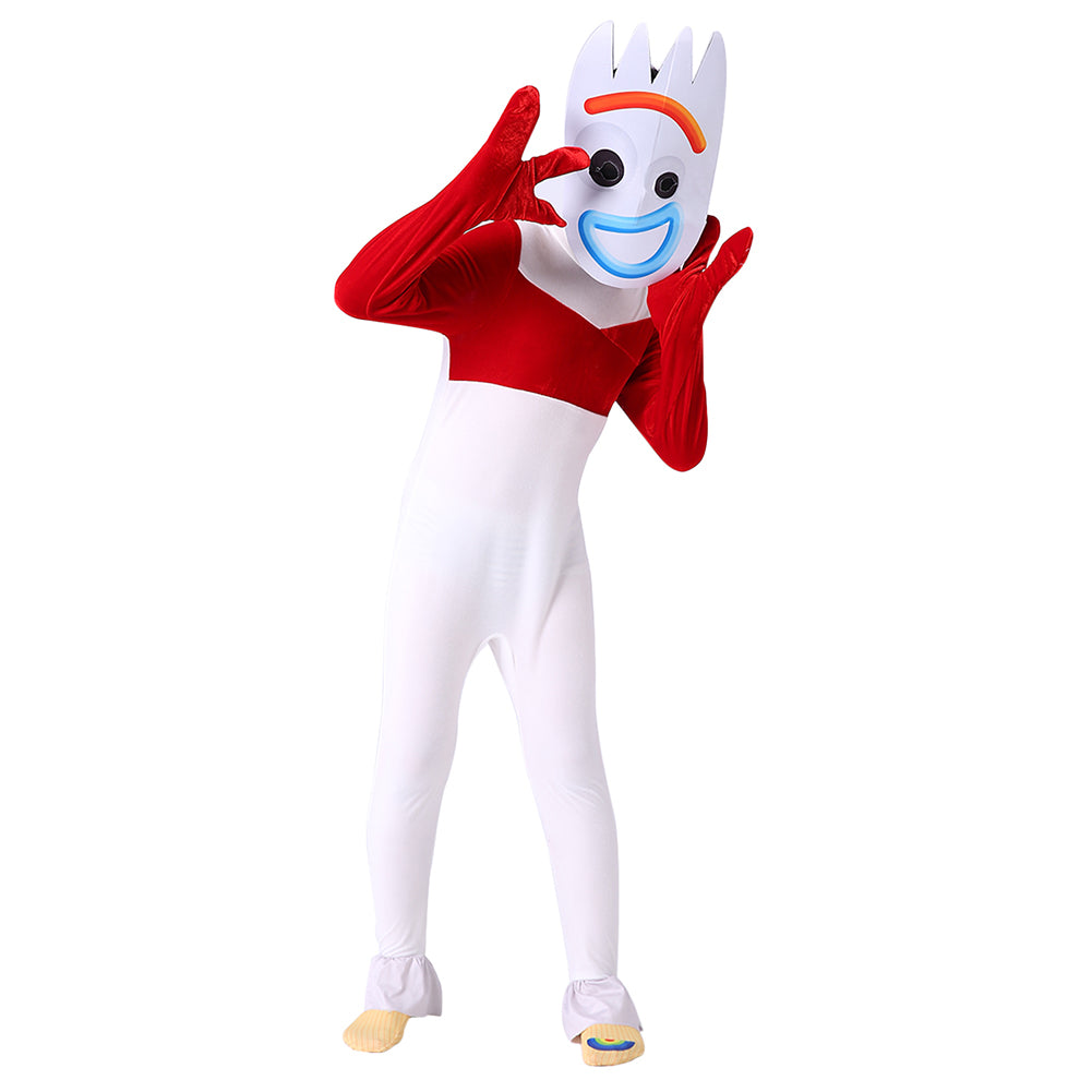Toy Story 4 Forky Jumpsuit Halloween Costume Kids Child