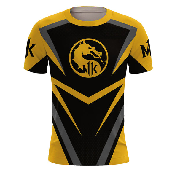 Unisex Vedio Game Merchandise T-shirt Mortal Kombat X Short Sleeve Shirt