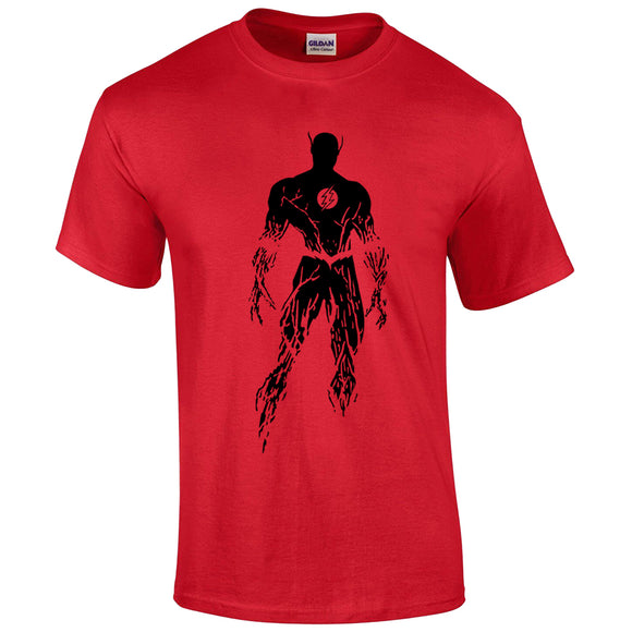 Unisex The Flash Tee Barry Allen Printed Short Sleeve T-shirt