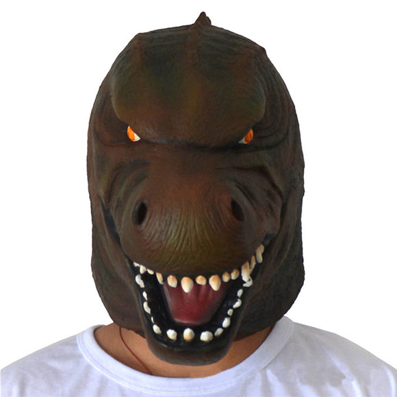 Movie Godzilla Giant Monster Latex Full Head Animal Mask Dragon Costume Mask Party Fancy Dress Cosplay