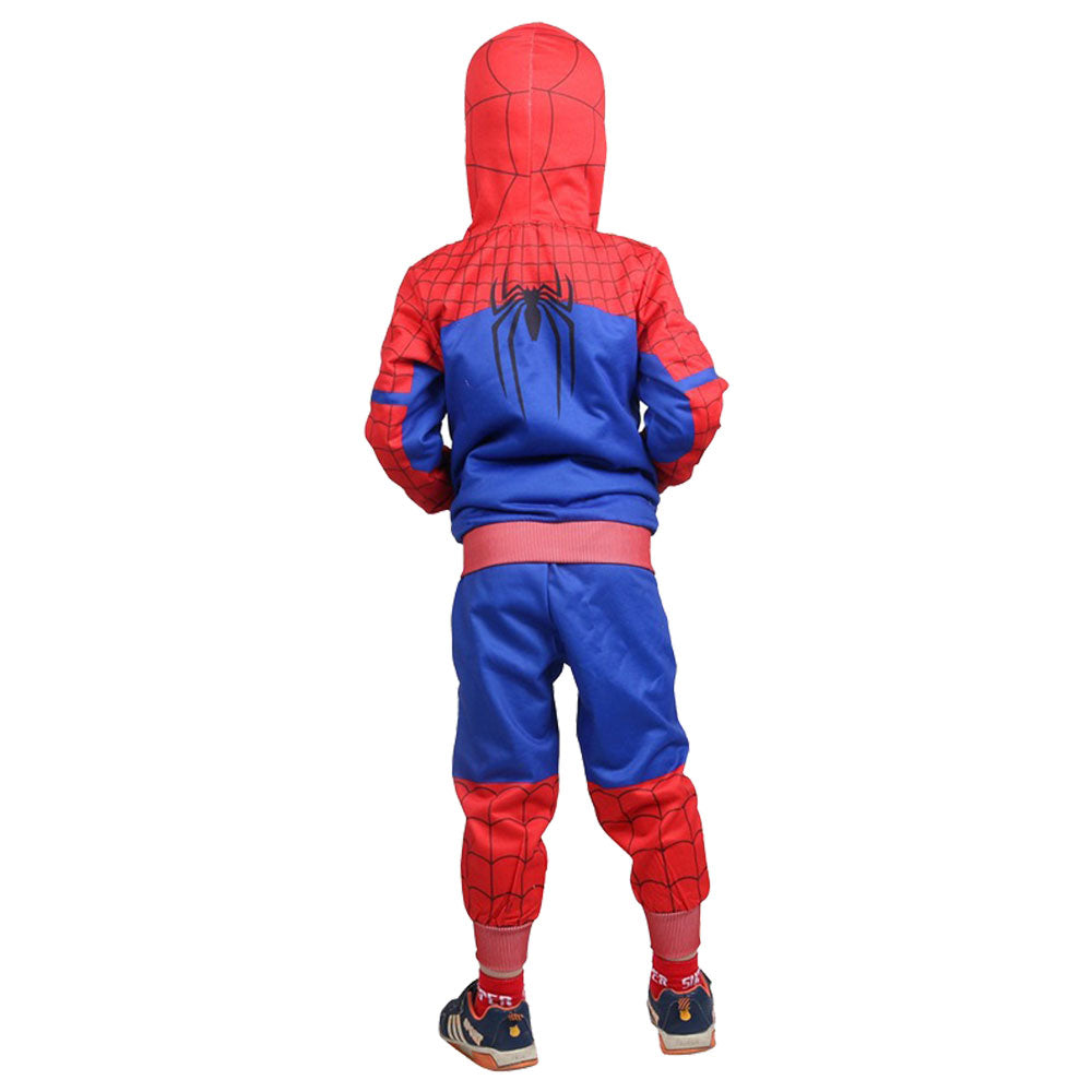 8d500ecde ... Kids Spider-Verse Miles Morales Gwen Stacy Noir Peter Cosplay Costume  ...