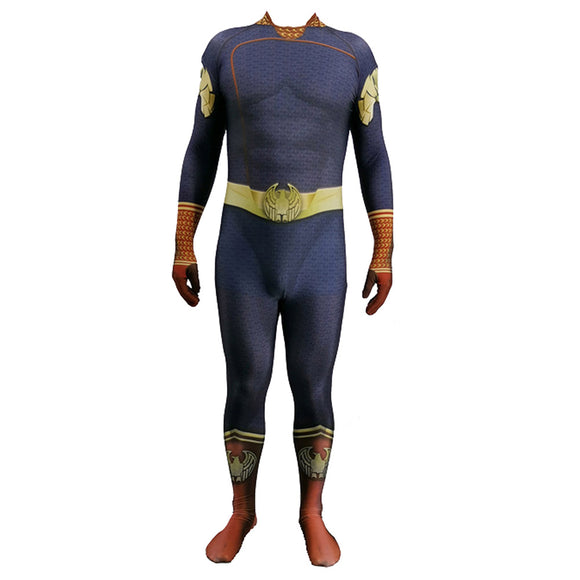 The Boys Cosplay Costumes 3D Lycra Spandex Zentai Adults The Seven Homelander Bodysuit Halloween Costumes