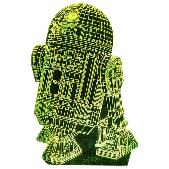 3D LED Illusion Star Wars Night Lights for Kids, USB Decor Lamp Three Pattern, 16 Color Change