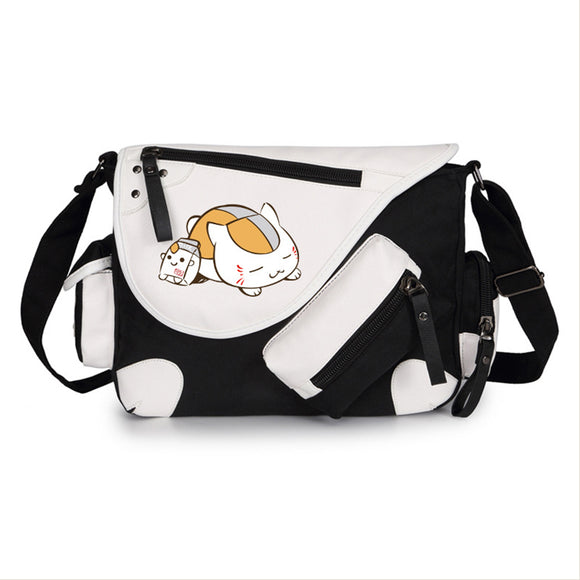 Anime Natsume Yuujinchou Crossbody Messenger Bag Handbag Tote Bag Shoulder Bag