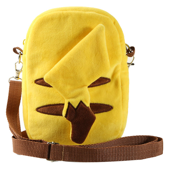 Pokémon Detective Pikachu Plush Backpack Zipper Bag School Backpack