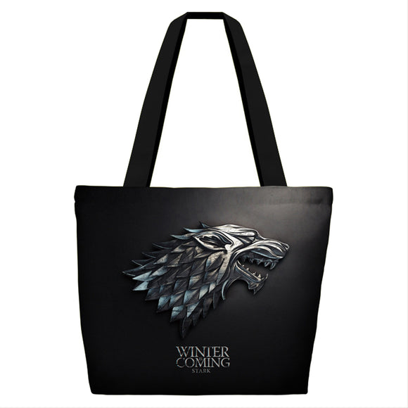 Game of Thrones Cotton Canvas Tote Bag