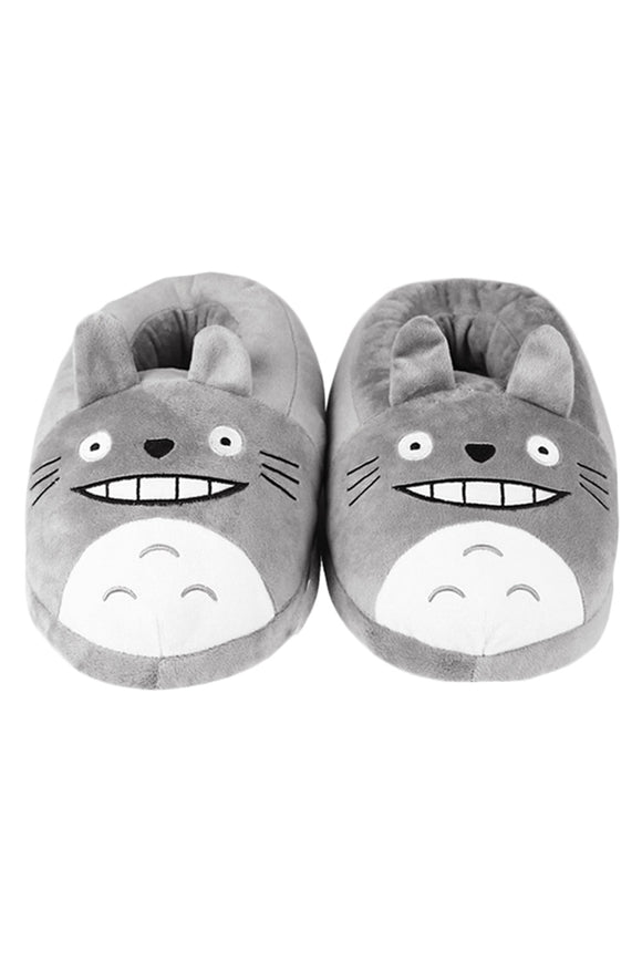 Christmas Totoro Soft Warm Slipper Home Indoor Costume Shoes