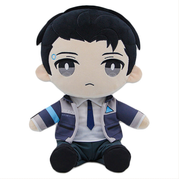 Detroit Become Human DBH Connor RK800 Plush Toy, Game Detroit Plush Stuffed Doll
