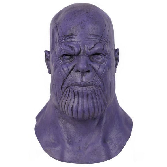 The Avengers Endgame Thanos 3D Latex Mask Party Props