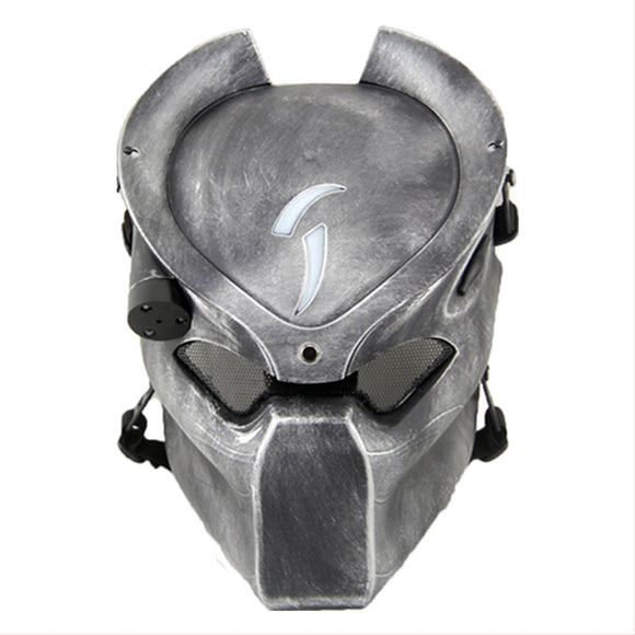 Alien Vs Predator Outdoor CS Games Costume Mask Ventilate Protective Face Mask with Infrared Lamp