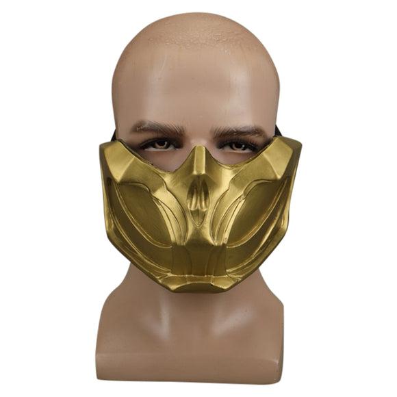 Mortal Kombat Mask Adjustable Adult Halloween Cosplay Costume Accessory Prop