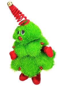Plush Animated Stuffed Toys Electric Musical Christmas Tree Decoration