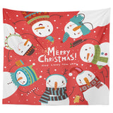 Christmas Blanket Wall Hanging Throw Blanket Warm Decoration