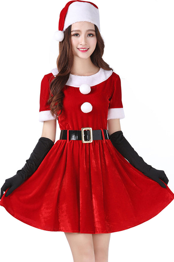 Women's Santa Sweetie Mrs. Claus Christmas Costume