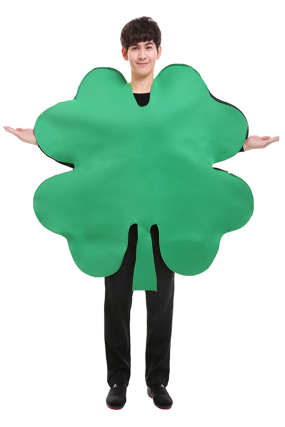 Christmas Four Leaf Clover Adult  Cosplay Costume