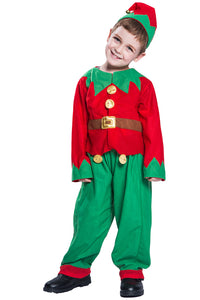Elf Costume Christmas Kids Complete Costume Kit