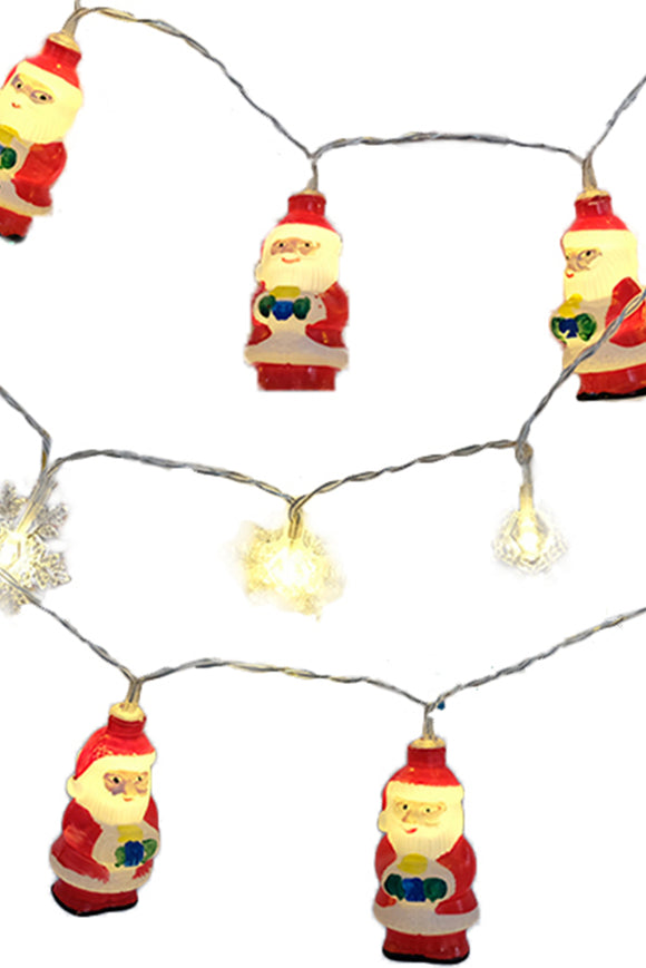 Christmas Lights Decoration Santa Claus 3M Lights String