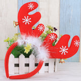 Christmas Reindeer Antlers Headband Hair Hoop Decoration Party Headwear