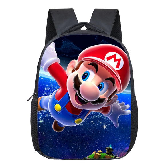 Super Mario Backpack for Kids Schoolbags