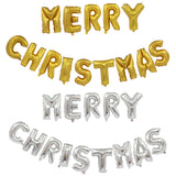 Merry Christmas Alphabet Balloons Christmas Party Decorations