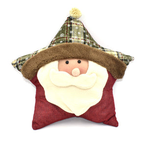 Christmas Decorations Pillows Santa Sofa Throw Pillow