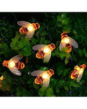 Outdoor Decoration Waterproof LED Warm White Bee Shaped Lighting for Christmas