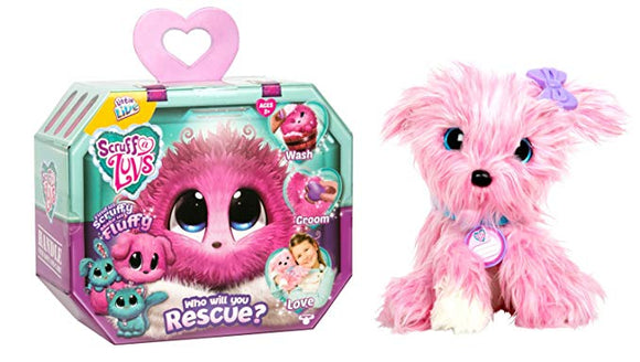Scruff A Luvs Rescue Pet Soft Toy for Kids Christmas Gifts