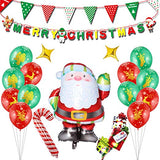 Santa Claus Balloons Decorations for Christmas Party Birthday Party