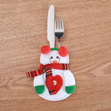 Knifes Forks Bag Christmas Party Decoration