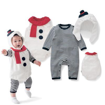 Toddler Baby Snowman Christmas Dress up Costume