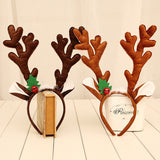 Reindeer Antlers Headband Decoration Christmas Party Headbands