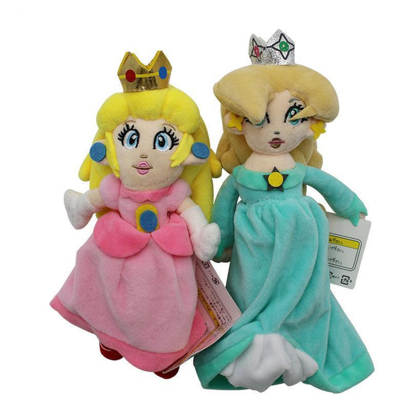 Super Mario Bros Collection Peach Princess Stuffed Plush Toys
